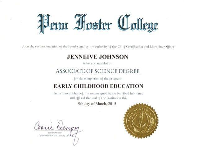 Penn Foster Degree