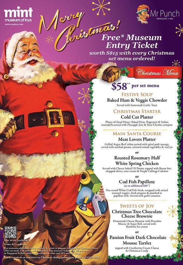 Christmas Menu Templates | Download Free & Premium Templates ...