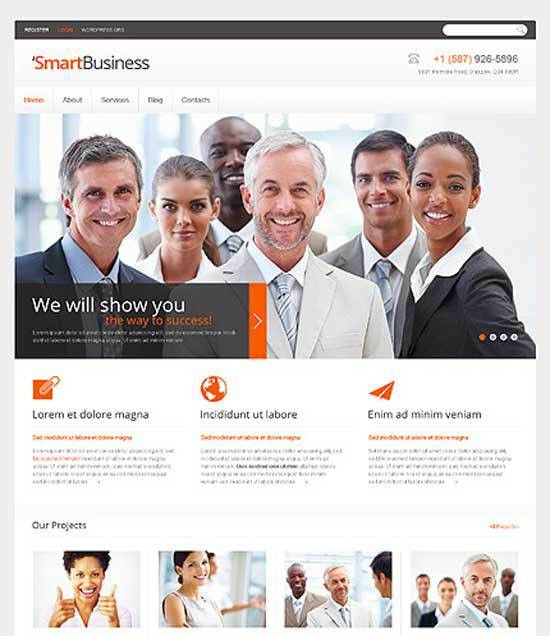 70+ Business Consulting WordPress Themes Free & Premium ...