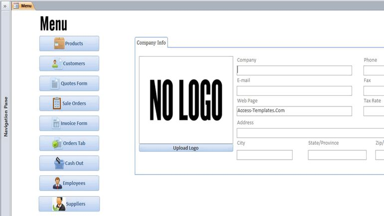 Download Employee Microsoft Access Templates and Access Database ...