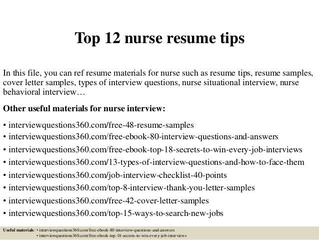 New Nurse Resume. Pediatric Nurse Cover Letter Resume Sample ...