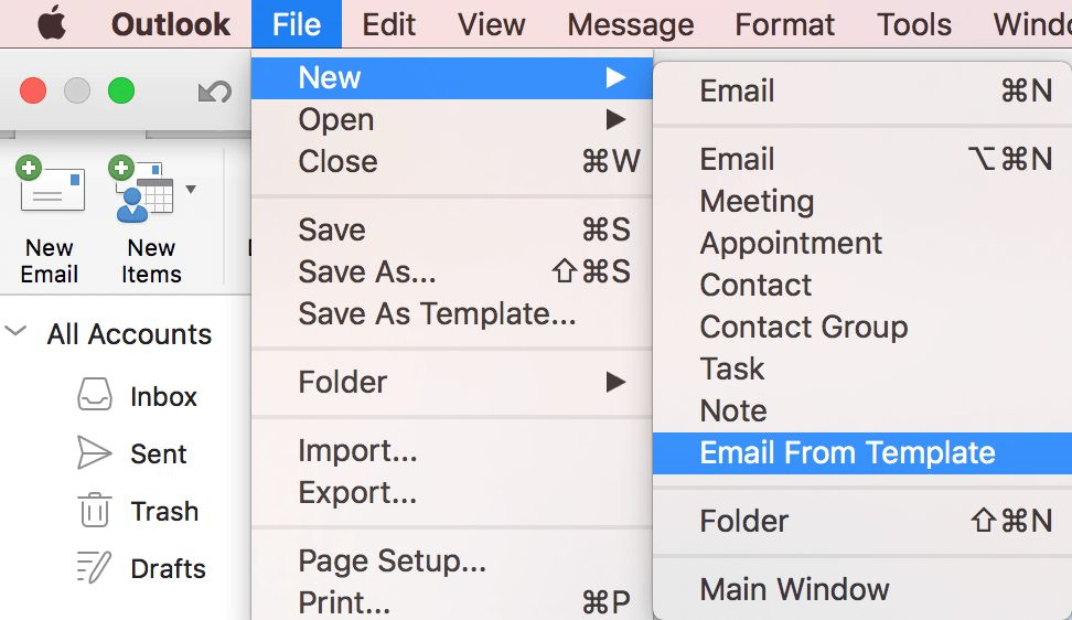 Insider Fast: Email Template is now available! – Outlook for Mac ...