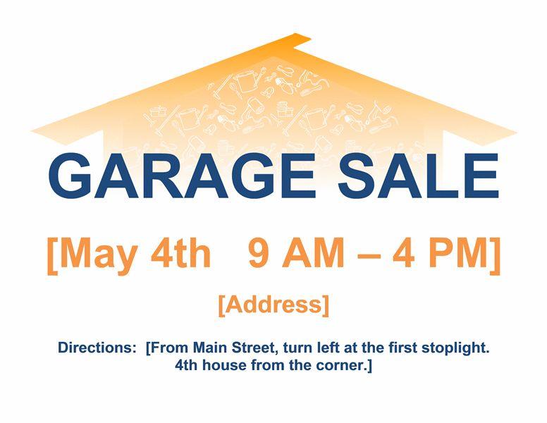 Garage sale flyer - Office Templates