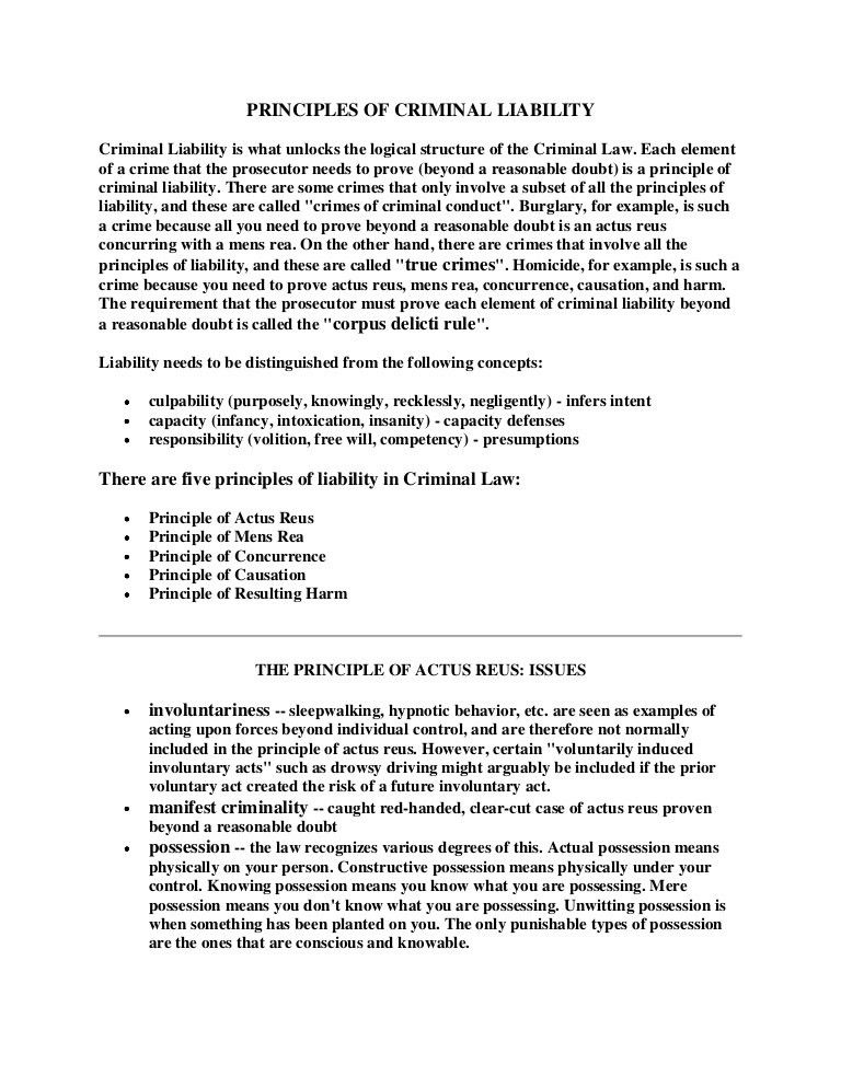 vet resume resume cv cover letter principles of criminal liability ...