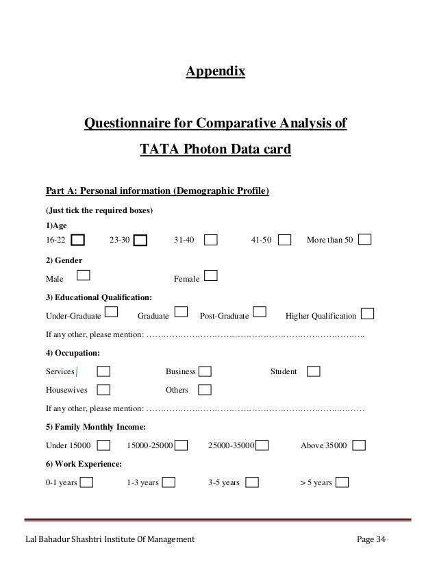 Market Analysis of Tata PHOTON Plus