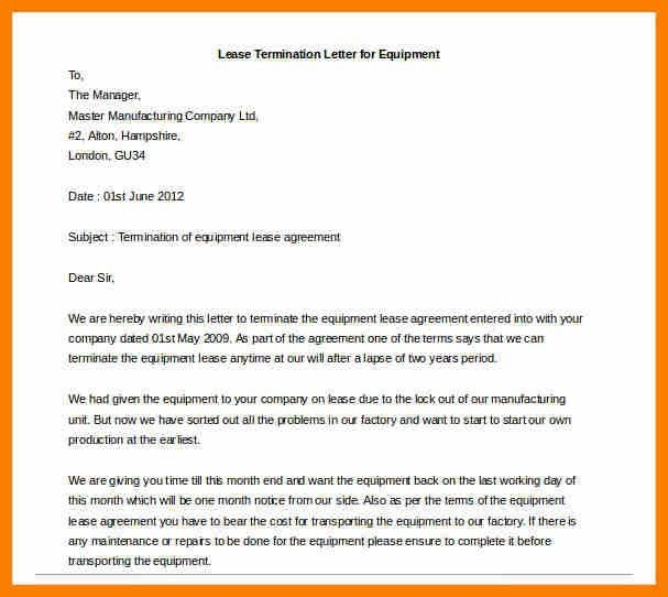 Sample Equipment Rental Agreement. Rental Agreement Letters - 8+ ...