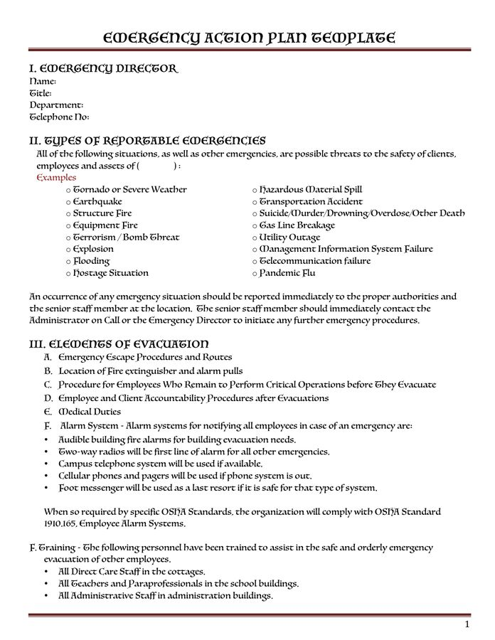 Safety Plan Template - download free documents for PDF, Word and Excel