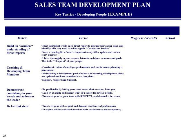 Example Global Sales & Marketing Business Plan