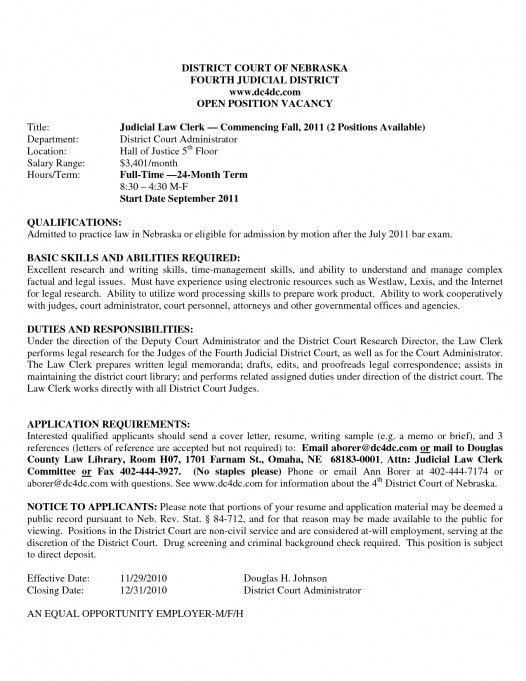 Criminal Law Clerk Resume] Law Clerk Resume The Best Resume, Clerk