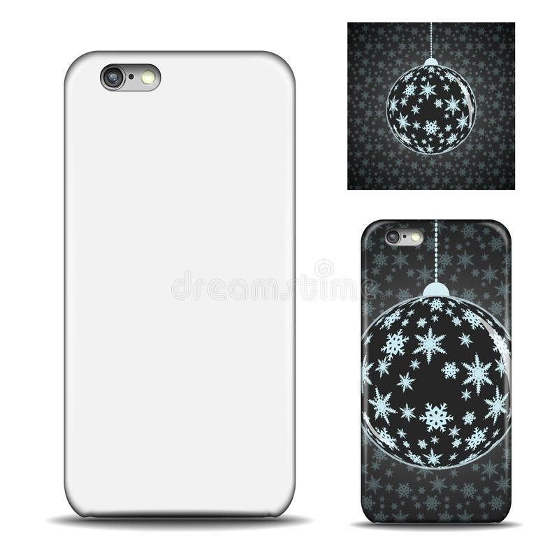 Realistic Phone Case. Blank Template For Design. Stock Vector ...