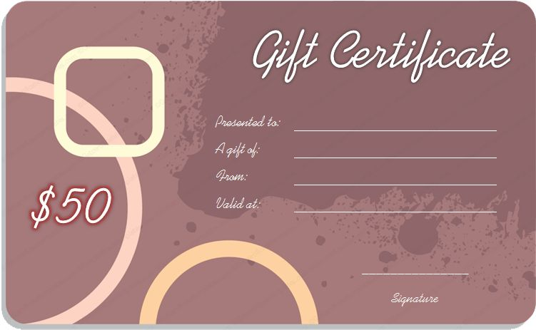 Gift Card Templates – Create Gift Cards for Anyone