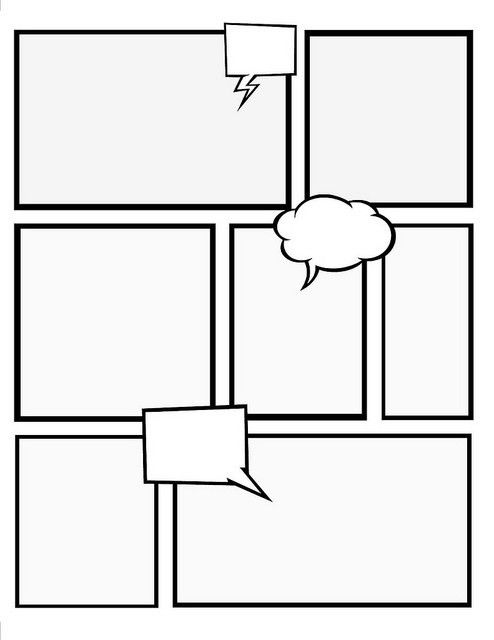 Make Your Own Comic Book with these templates | Crafts | DCDL ...