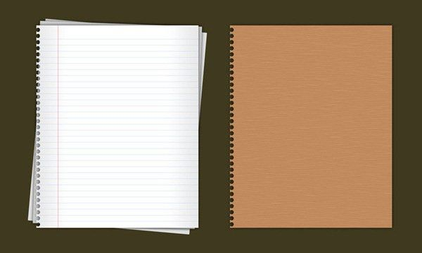 Loose-leaf notebook (with cover) – psd material | My Free ...