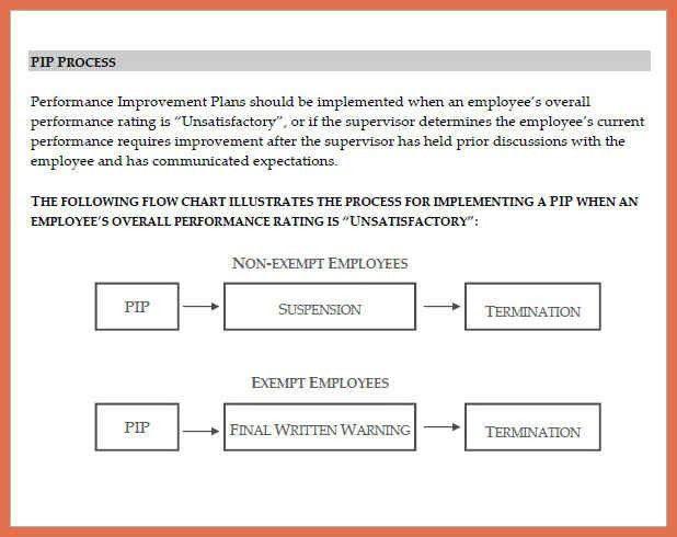 performance improvement plan example | bio example