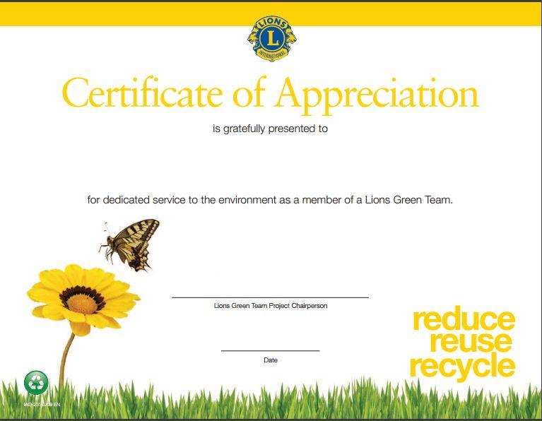7 Certificate of Appreciation Templates - Certificate Templates