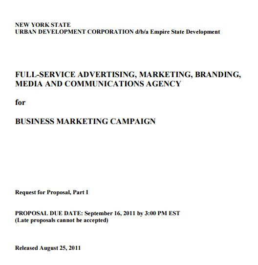 4+ Advertising Proposal Templates – Proposal Template