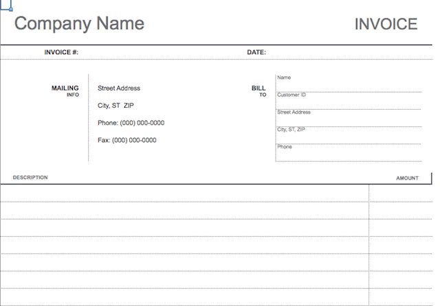 10 Simple, Customizable Invoice Templates Every Freelancer Should Use