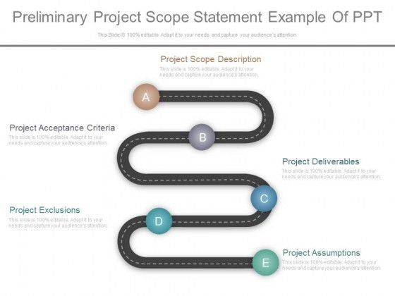 Preliminary Project Scope Statement Example Of Ppt - PowerPoint ...