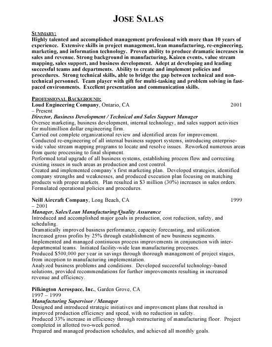 senior manager resume samples visualcv resume samples database ...