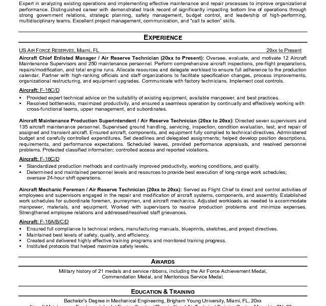 Agreeable Aircraft Maintenance Resume Wellsuited - Resume CV Cover ...
