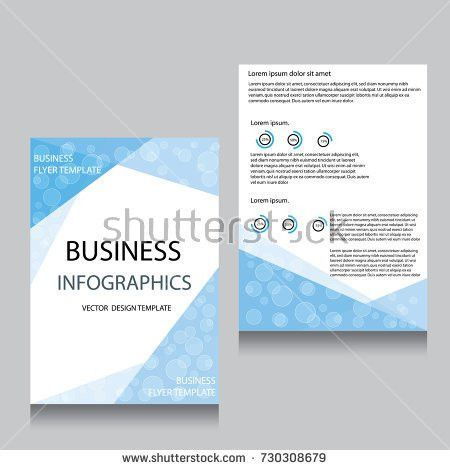 Vector Brochure Flyer Design Layout Template Stock Vector ...