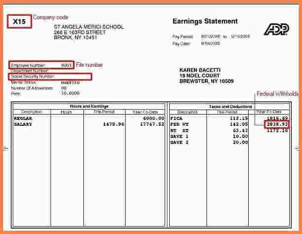 8+ pay stub template download | Samples of Paystubs