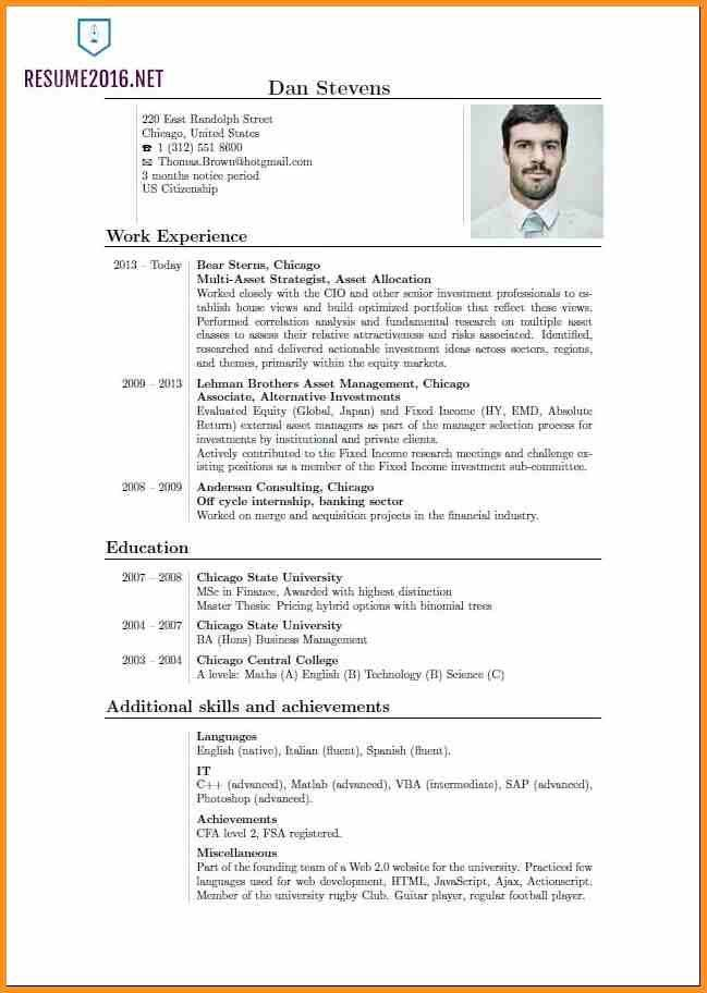 5+ current resume format | cook resume