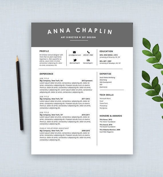 19 best Resume Design images on Pinterest | Cv template, Resume ...