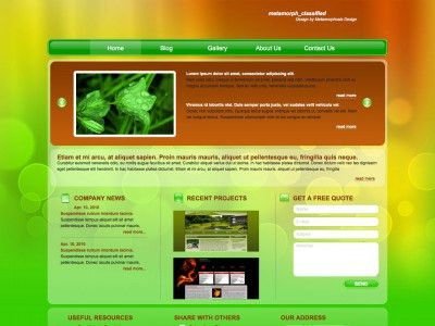 Free web templates, HTML5 and CSS layouts - Page 5 - Just Free ...