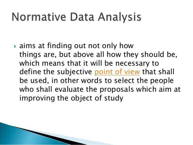 Data Analysis, Presentation and Interpretation of Data