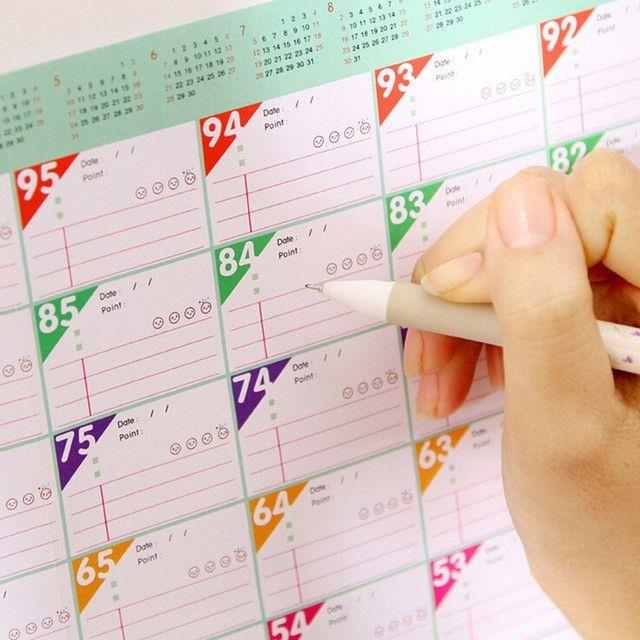 Aliexpress.com : Buy 2017 Mini Memo Pad Sticky Notes Calendar Wall ...