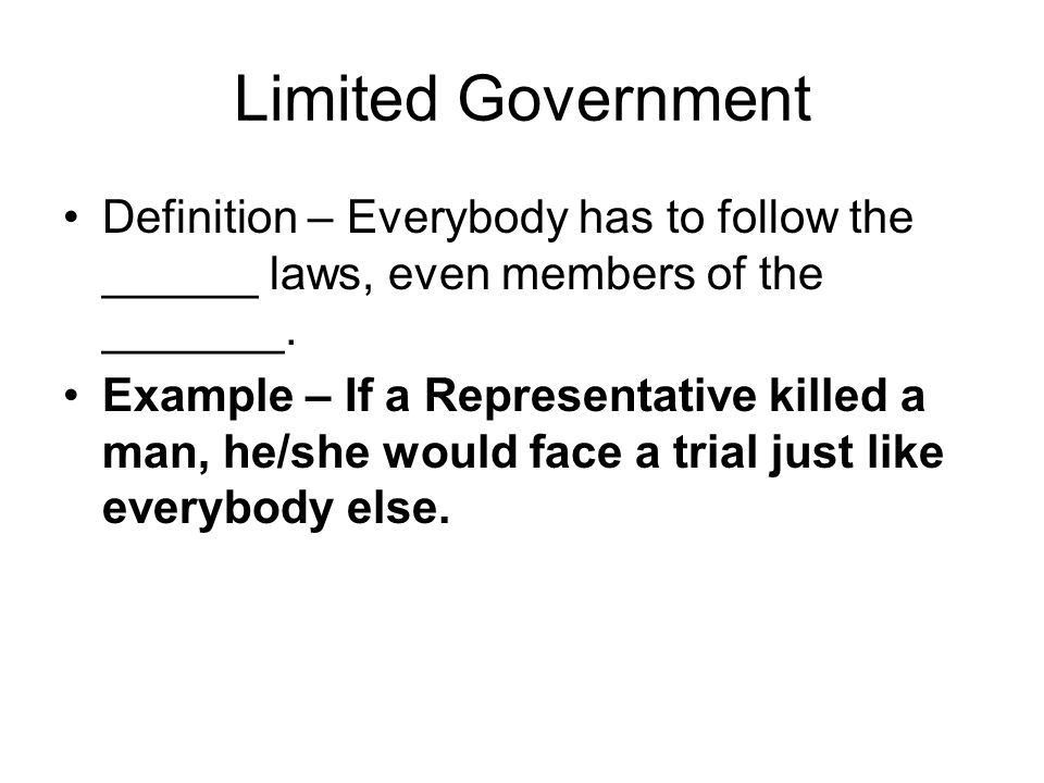 7 Principles of the Constitution - ppt download