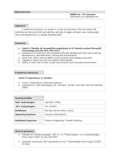 cv template microsoft word 2007 - Template