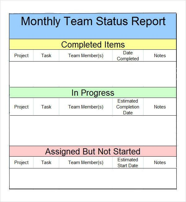 Free Printable Weekly Sales Report Template Sample : Helloalive