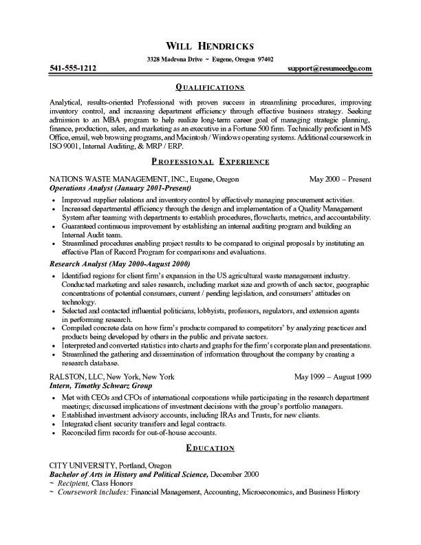 Medical School Resume Template - http://topresume.info/medical ...