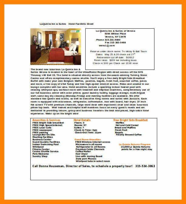 Fact Sheet Template Word. 3+ Word Fact Sheet Template 3+ Word Fact ...