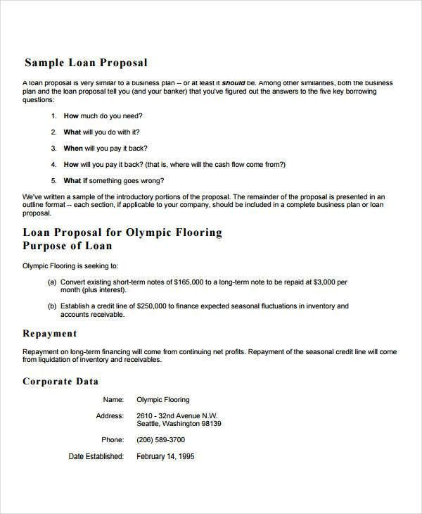 20+ Standard Business Proposal Template | 9 Sick Note For Sales ...