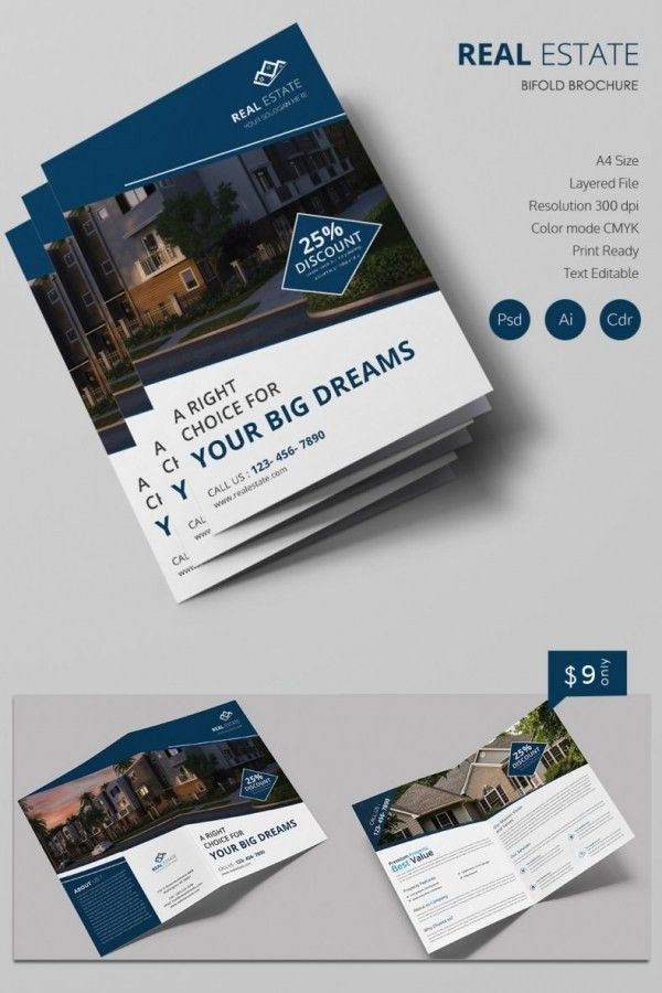 16+ Real Estate Brochures – Free PSD, EPS, Word, PDF, InDesign ...