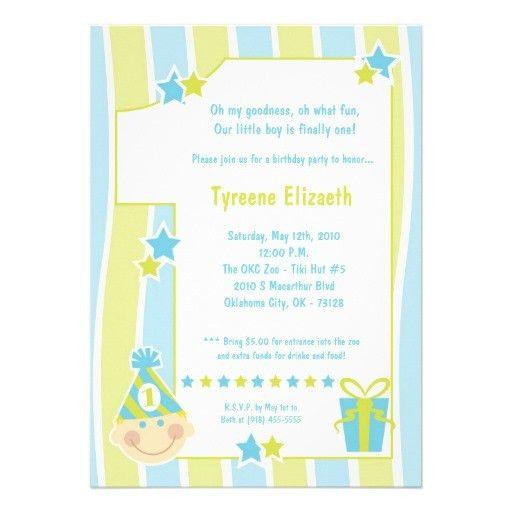 Birthday Invites: Awesome One Year Old Birthday Invitations Ideas ...