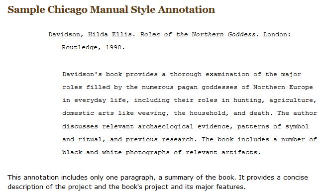 Annotated Bibliographies - Biology - Library Research Guides at ...