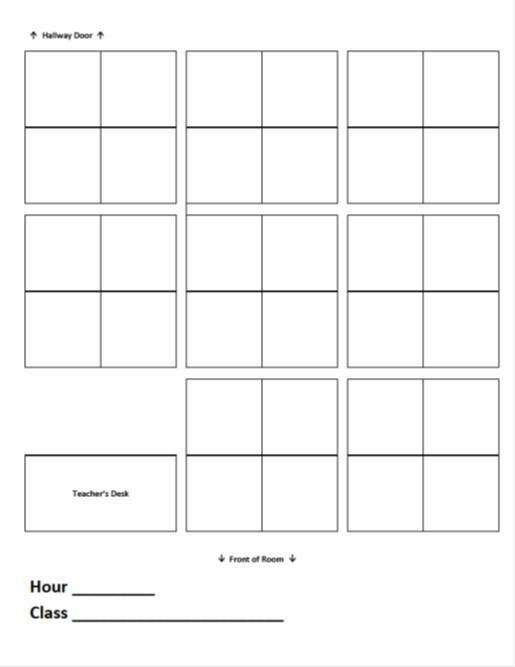Seating Charts | Ms. Adventures in Room 100