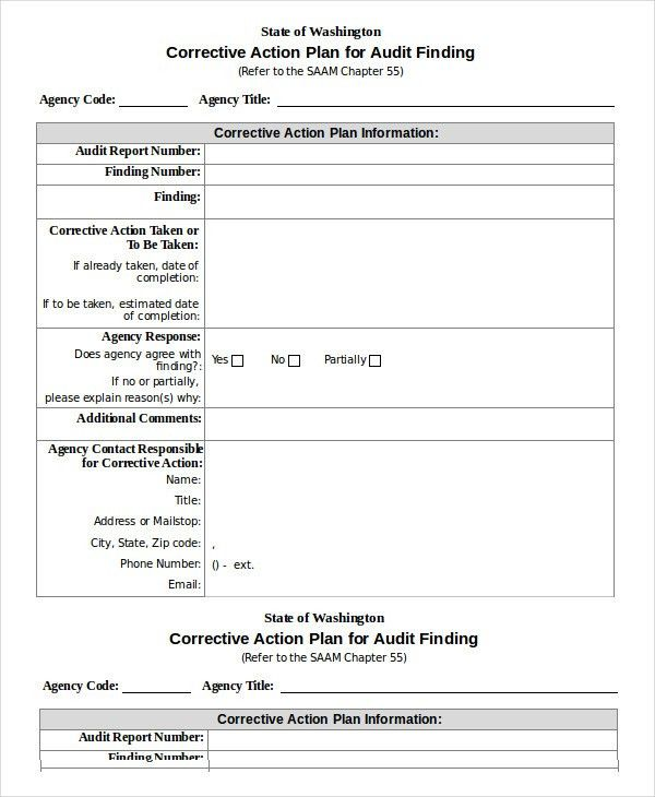 Sample Audit Plan Template. Audit Templates Free Audit Report ...