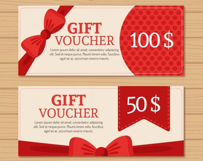 25 Free Gift Voucher Templates, Gift Cards - DesignYep