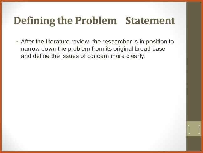 problem statement example | sop example
