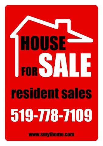 Estate for Sale sign template, How to create an Estate for Sale ...