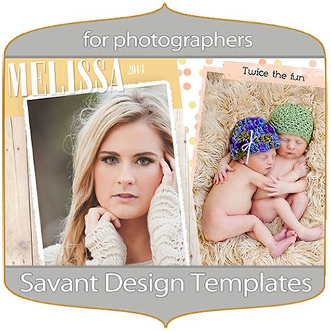 Free Birth Announcement Template for Designers and Photographers ...