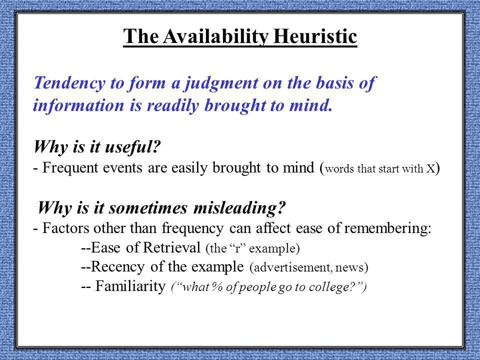 Judgment and Decisions - ppt download