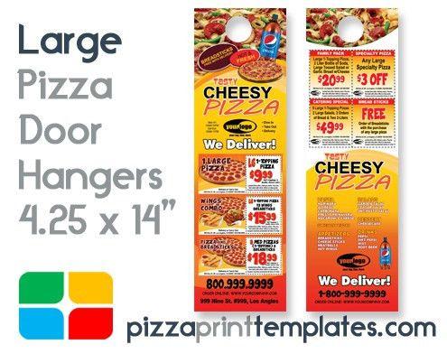Pizza Door Hangers (4.25 x 14) #PIZZA0102C