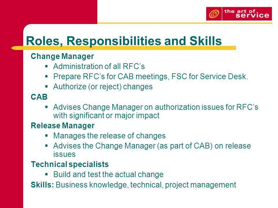 Change Management & ITIL V3 - ppt download