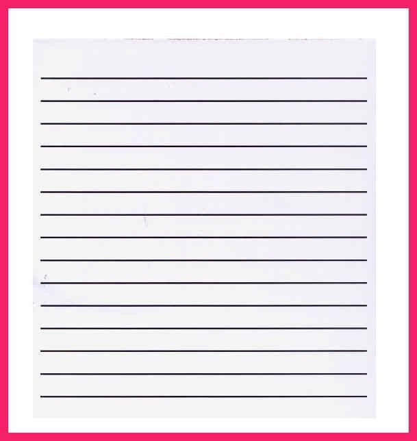 Microsoft Lined Paper Template 40 | Samples.csat.co